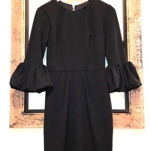 Betsy & Adam Black Dress.